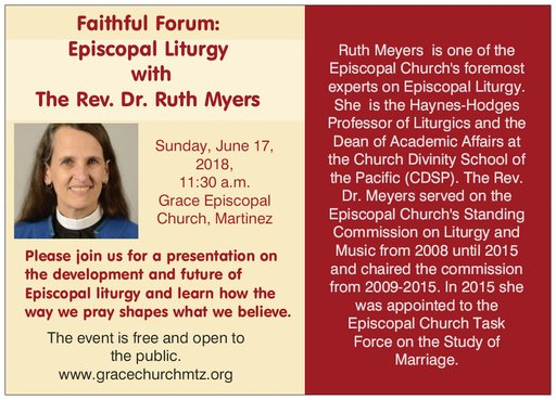 Renowned Liturgical Scholar to speak at Grace