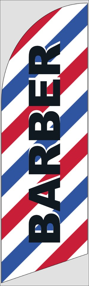 Picture of Feather Flag Barber/Beauty 1