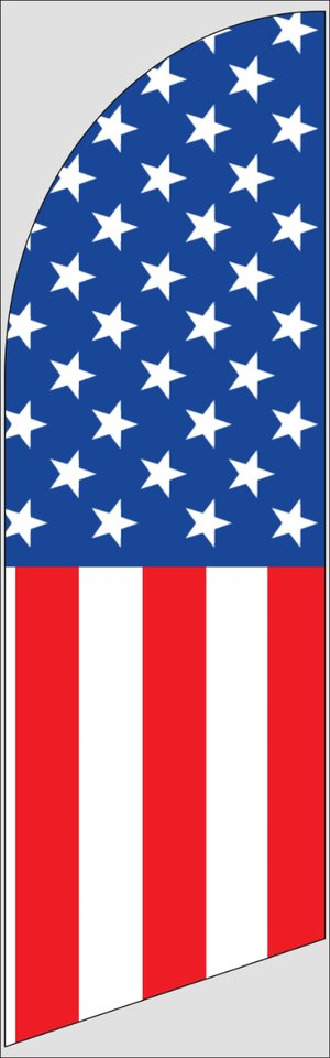 Picture of Feather Flag Specialty Feather Banner 14