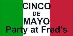 Picture of Vinyl Cinco de Mayo 6