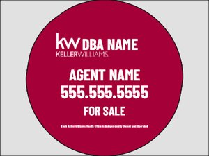 Picture of Keller Willams - For Sale Agent Info (Circle)