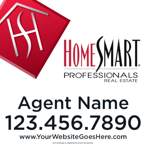 Picture of 24x24 Agent Sign (Double Sided)