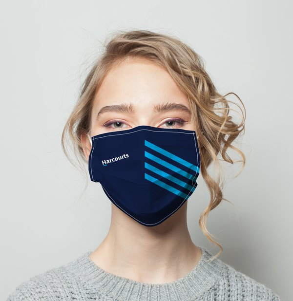 Picture of Harcourts Covid Mask V4