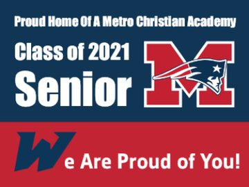 Picture of Metro Christian Academy - Design A