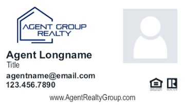 Picture of Agent Group Realty Business Card 4