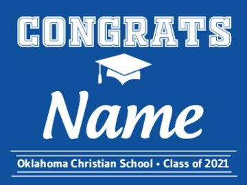 Picture of Oklahoma Christian School - Design G
