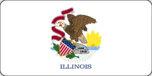 Picture of Flags - Illinois
