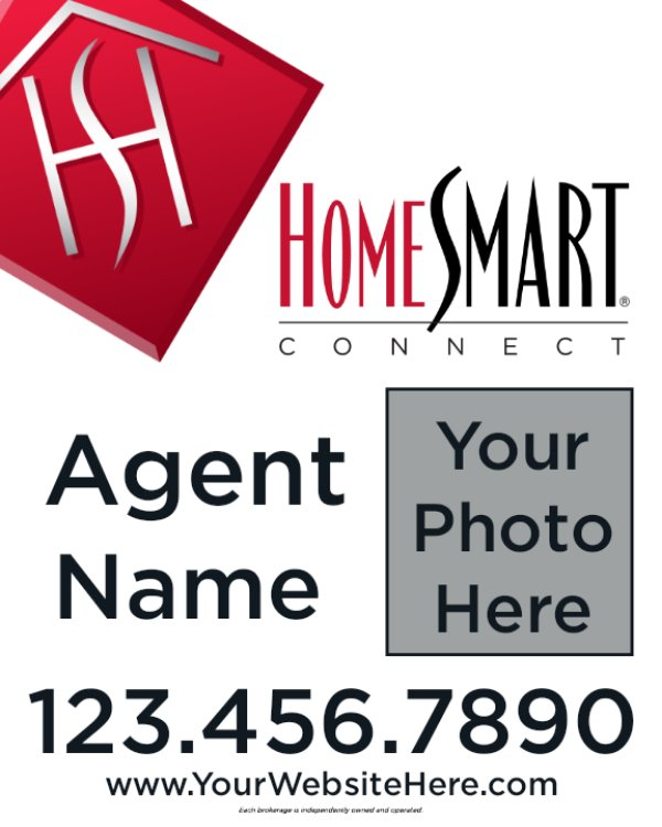 Picture of 30x24 Agent Photo Sign (Double Sided)