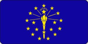 Picture of Flags - Indiana