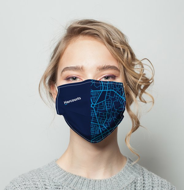 Picture of Harcourts Covid Mask V5