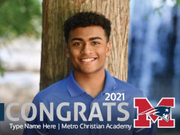 Picture of Metro Christian Academy - Design K