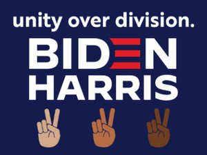 Picture of Biden/Harris Unity