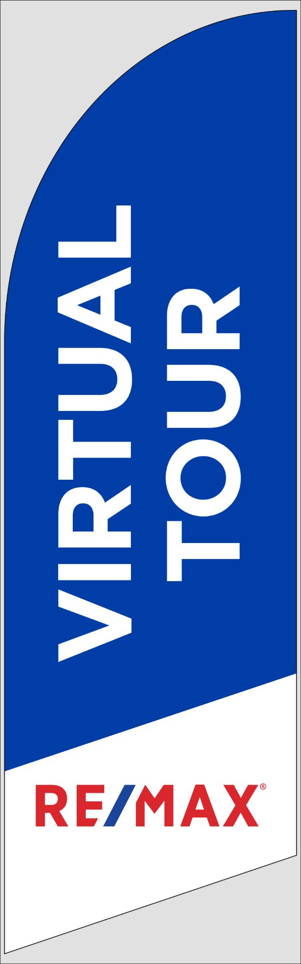 Picture of Blue Virtual Tour - FLAG ONLY (8 ft)