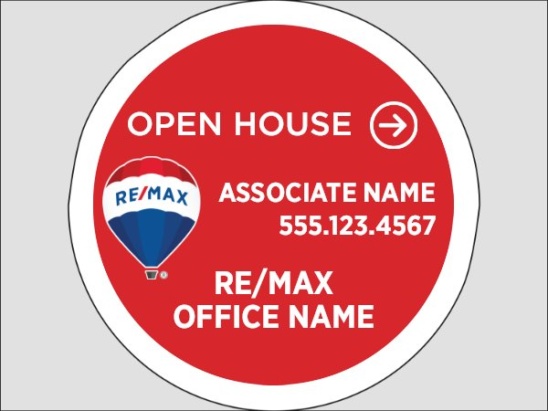 Picture of Circle Shaped - Open House
