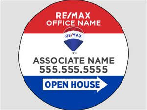 Picture of RE/MAX - Open House Agent (circle)
