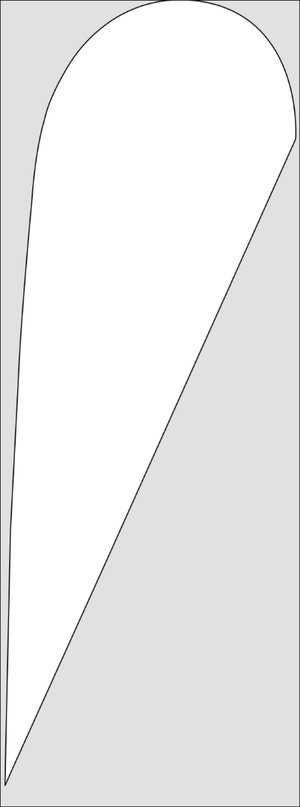 Picture of SFS - 13' Teardrop Flag
