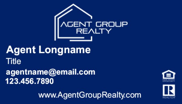 Picture of Agent Group Realty Business Card 1